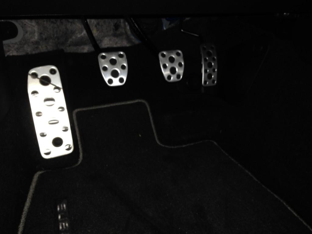 BRZ pedals